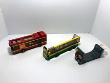 Lego CIty bus parts LOT: Buses from 60200, 60154 + Skateboard ramp 60200