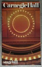 1984 Frank Sinatra Carnegie Hall Stagebill & Sinatra at the London Palladium