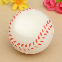 Baseball Hand Wrist Exercise Stress Relief Relaxation Squeeze Soft Foam BallATCA