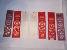 (16) 1964 & 1965 STATE FAIR OF TEXAS WINNER'S RIBBONS - ANTIQUES - OFC-D