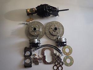 71 Ford Fairlane Torino Ranchero power front disc brake conversion kit