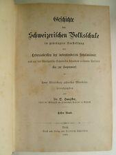 Schweiz, Geschichte der schweizerischen Volksschule, Landeskunde, Helvetica,
