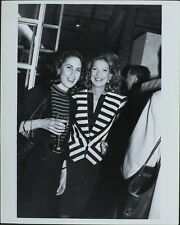 Carol Vogel (Actress), Louise Melhads Greenwald (Politician) ORIGINAL PHOTO