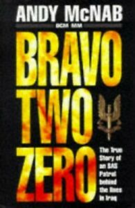 Bravo Two Zero by McNab, Andy Hardback Book The Cheap Fast Free Post