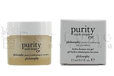 philosophy purity made simple hydra-bounce eye 0.5oz / 15ml NEW IN BOX
