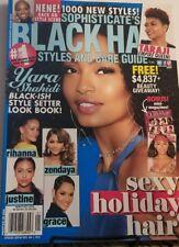 Black Hair Styles And Care Guide Yara Shahidi Blackish New Book FREE SHIPPING MC