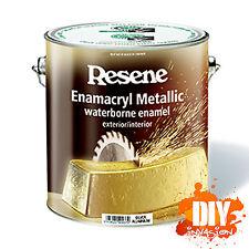 Resene Enamacryl Metallic Effect Paint Shimmer Sparkle Glitter 44 Colours
