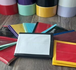 Handmade Duct Tape Wallet - Solid Colors - You Pick the Colors