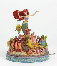 Disney Traditions Under the Sea The Little Mermaid Musical Figurine 23180