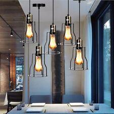 lampadario vintage da soffitto Retro Industriale Bar Ferro Lampada a sospensione