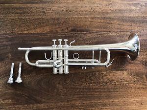 Bach Stradivarius Bb Silver Trumpet Cornet  - Model 43 #25 ML