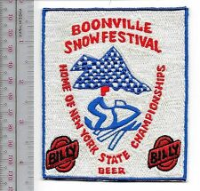 Snowmobile & Billy Beer Bonneville Snow Festival Adirondack Cup late 70's Promo