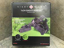 Sightmark Ghost Hunter 1x24 Night Vision Goggle Kit SM14070 Monocular