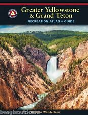 National Geographic Benchmark Atlas Yellowstone and Grand Teton Recreation Map