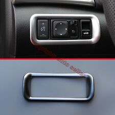Chrome Head Light Switch Control Trim Cover For Nissan Sentra 2016 2017
