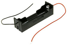 CAJA PARA BATERIAS LI-ION 1 X 18650 PORTAPILAS BATTERY HOLDER