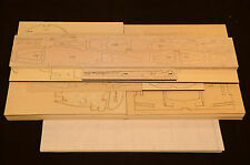 Large 1/5 Scale MESSERSCHMITT BF-109 G10 Laser Cut Short Kit & Plans, 78.5 in WS