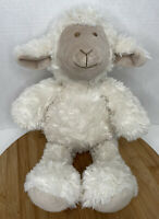 "Pier 1 One Imports Lamb Sheep 17"" Plush Stuffed Animal Soft Toy White Cream"