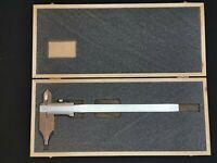 PREISSER Werkstattmessschieber 250mm mit Spitze und Schnabel Schieblehre