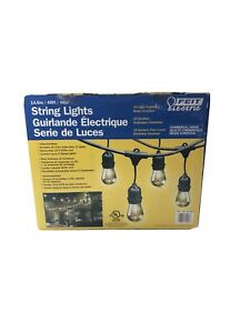 Feit Electric Commercial 48ft 11W Indoor Outdoor Weatherproof 24 String Ligths