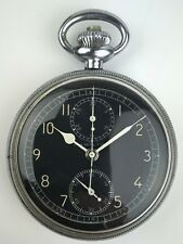 Hamilton Wwii Model 23 Military Chronograph Navigational Pocket Watch - Rare