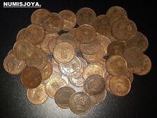Alfonso XIII. Año 1906* 06. Lote de 10 monedas de 1 Céntimo. De EBC a SC.