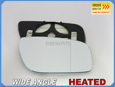 MERCEDES E-Class W211 06-09 Wing Mirror Glass Wide Angle HEATED Right Side /E025