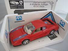 Ferrari Testarossa (1984) - PPG - rot mit Decal´s in 1:18, 0407/1000 ST.
