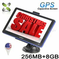 "XGODY 886 7"" GPS Navigation System with free Lifetime Maps 8GB Navigator Sav Nav"