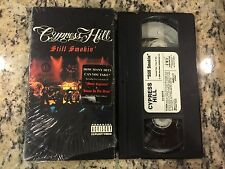 CYPRESS HILL STILL SMOKIN' OOP LIKE NEW VHS 2000 ICE CUBE, DR. DRE LIVE + VIDEOS