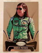 DANICA PATRICK Signed/Auto 2018 PANINI Certified Card No.72 mint/gem