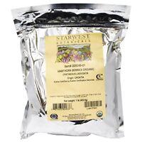 Starwest Botanicals Organic Hawthorn Berries 1 lb 453 6 g Kosher, Organic