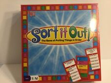 NEW Sort It Out Game by University Games 2008 Edition New in Sealed Box