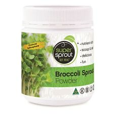 1 x 70g SUPER SPROUT Australian Grown 100% Pure Organic BROCCOLI SPROUT POWDER