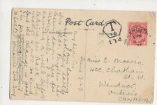 Miss C Morris Chatham Street West Windsorr Ontario Canada 1927  173b