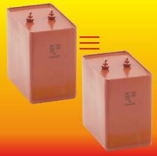 10 uF 1000 V MATCHED RUSSIAN PAPER IN OIL PIO HIGH VOLTAGE CAPACITORS MBGT МБГТ