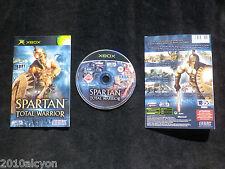 JEU Microsoft XBOX : SPARTAN TOTAL WARRIOR (Sega COMPLET envoi suivi)