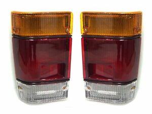 REAR TAIL LAMPS LIGHT STOP SIGNALS Fits ISUZU Fargo Bus WFR 84 1984-1988