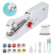 Tragbare Nähmaschine Elektrische Mini Handnähmaschine Nähen Stitch Werkzeug DHL