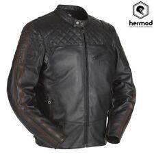 Motorrad-Jacken aus Leder mit L im Retro-Stil