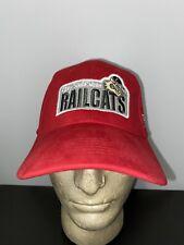 Vintage Gary SouthShore RailCats Indiana Professional Trucker Hat Baseball Cap
