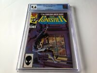 PUNISHER LIMITED SERIES 4 CGC 9.6 WHITE PAGES JIGSAW MIKE ZECK MARVEL COMICS