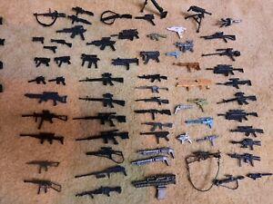 3 3/4 GIJoe cobra lenard chat mei, accessories,  weapons , hasbro.