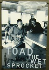 TOAD THE WET SPROCKET 2 SIDED MINI PROMO POSTER FLAT P.S.(A TOAD RETROSPECTIVE)