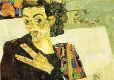 Egon Schiele # 07 Poster cm 35x50 Affiche Plakat Cartel Stampa Grafica Digitale
