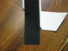 25mm  Black  ADHESIVE HOOK ONLY  tape  Good grip & bond Price per 1m