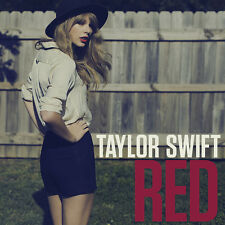 "TAYLOR SWIFT Limited Edition Individually Numbered "" RED "" CD Single - SEALED"