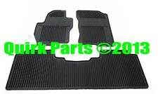 2012-2013 Nissan Frontier | All Season Rubber Floor Mats Set of 3 GENUINE OE NEW