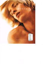 PUBLICITE ADVERTISING  2000   RUSH   parfum pour homme  GUCCI