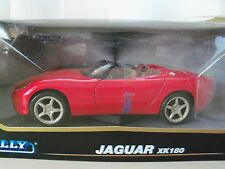 WELLY COLLECTABLE - JAGUAR XK180 ROADSTER (RED) - 1/24 DIECAST